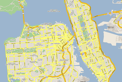 San Francisco guide to New York neighborhoods overstated